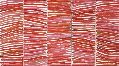 Emily Kame Kngwarreye, MONA, Theatre of the World Exhibition