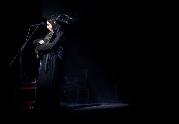PJ Harvey at MONA FOMA 2012. Photo credit: MONA/Remi Chauvin