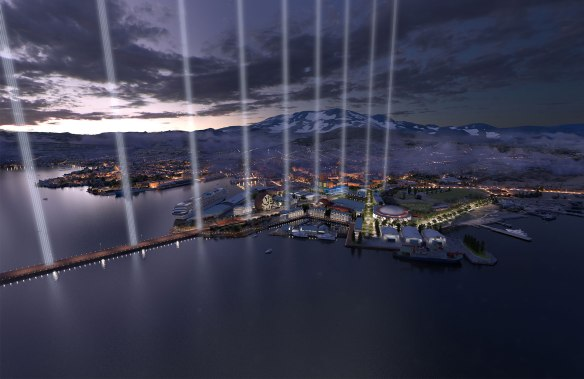 Rendering: Fender Katsalidis Architects with rush/wright associates and SCENERY